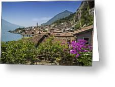 Lake Garda Limone Sul Garda Greeting Card