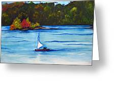 Lake Glenville  Sold Greeting Card