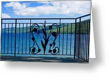Lake Glimmerglass Greeting Card
