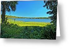 lake Hall in Spring Greeting Card
