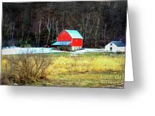 Lake Hallie Barn Greeting Card