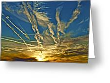 Lake Havasu Sunset Greeting Card