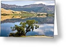 Lake Hayes New Zealand Greeting Card