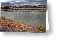 Lake Hefner Dock Greeting Card
