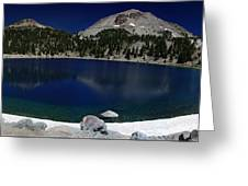 Lake Helen Lassen  Greeting Card