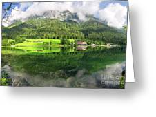 Lake Hintersee Greeting Card