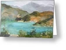 Lake Hodges Greeting Card