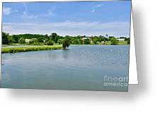 Lake House Property Greeting Card