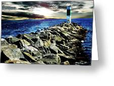 Lake Huron Lighthouse Greeting Card