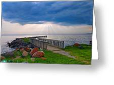 Lake Huron Michigan Greeting Card