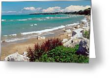 Lake Huron Ontario Greeting Card