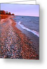 Lake Huron Waves 7 Greeting Card