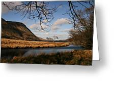 Lake In Glenveagh National Park No 1 Greeting Card
