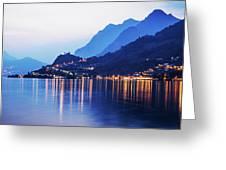 Lake Iseo - Italy Greeting Card