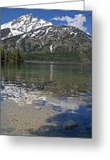 Lake Jenny Grand Tetons Greeting Card