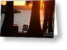 Lake Life Greeting Card