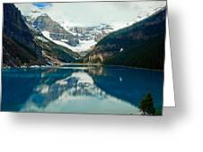 Lake Louise 1783 Greeting Card by Larry Roberson