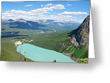 Lake Louise And Banff National Park Greeting Card