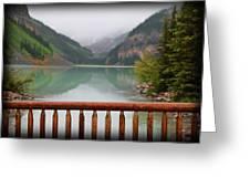 Lake Louise At Dawn Greeting Card