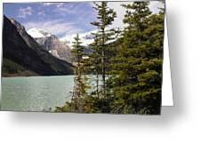 Lake Louise, Banff, Alberta, Canada Greeting Card