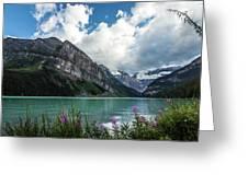 Lake Louise Day One Greeting Card