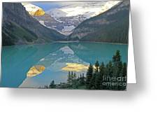 Lake Louise Sunrise Greeting Card