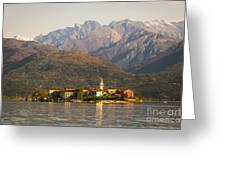 Lake Maggiore, Stresa, Piedmont, Italy Greeting Card