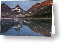 Lake Magog Greeting Card