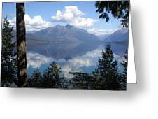 Lake Mcdonald Glacier National Park Greeting Card
