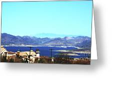 Lake Mead Las Vegas Greeting Card
