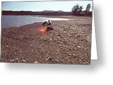 Lake Mendocino Greeting Card