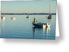Lake Mendota Fishing Greeting Card