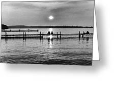 Lake Mendota In Madison Greeting Card