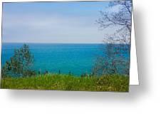 Lake Michigan In May Greeting Card