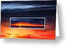 Lake Michigan Sunrise Greeting Card