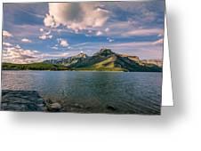 Lake Minnewanka Banff II Greeting Card