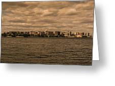 Lake Monona Skyline Greeting Card