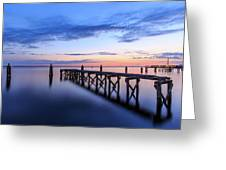 Lake Monroe At Twilight Greeting Card