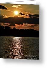 Lake Murray Golden Hour Greeting Card