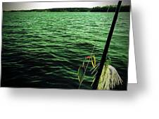 Lake Murray Lure Greeting Card