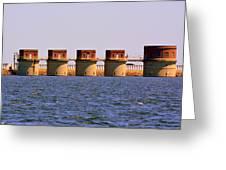 Lake Murray S C 2 Greeting Card