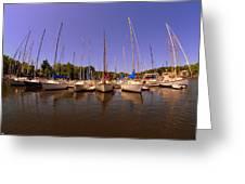 Lake Murray S C Marina Greeting Card