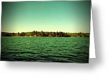 Lake Murray Shore Greeting Card