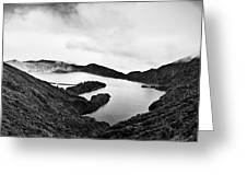 Lake Of Fire - Lagoa Do Fogo Greeting Card