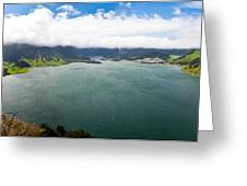 Lake Of Sete Cidades Greeting Card