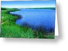 Lake Of The Shining Waters Prince Edward Island Greeting Card