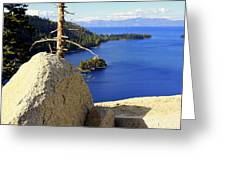 Lake Of The Sky Greeting Card