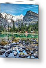 Lake O'hara At Dusk Greeting Card