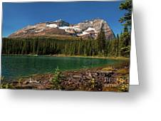 Lake O'hara, Yoho National Park Greeting Card