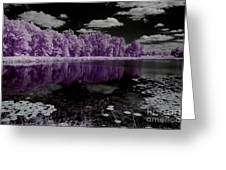 Lake On Another Planet Greeting Card